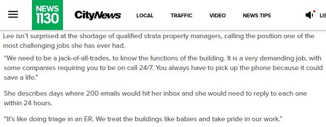 property manager shortage