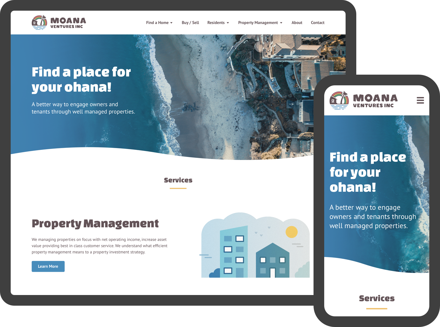 Your property management website: redesigned.