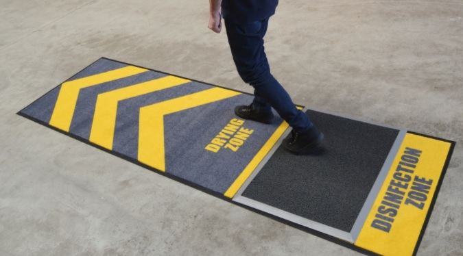 disinfection floor mat notrax.eu